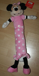 Disney-Pink-Minnie-Mouse-Loofa-24-Inches-Dog-Pet-Toy-NWT-Free-Shipping