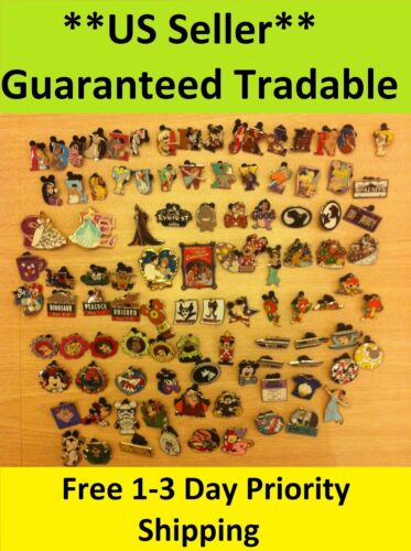 Disney Pins Lot of 250 ** US Seller** 1-3 Days FREE Shipping*Guaranteed Tradable in Collectibles, Disneyana, Contemporary (1968-Now) | eBay