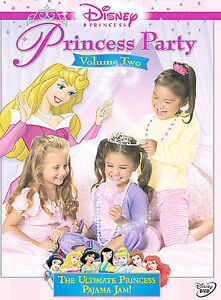 Disney Princess Party - Vol. 2 (DVD, 200...