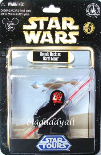 Disney Star Wars Tours Series 6 Donald Duck as Darth Maul Figure Wave 6 in Toys & Hobbies, Action Figures, TV, Movie & Video Games | eBay