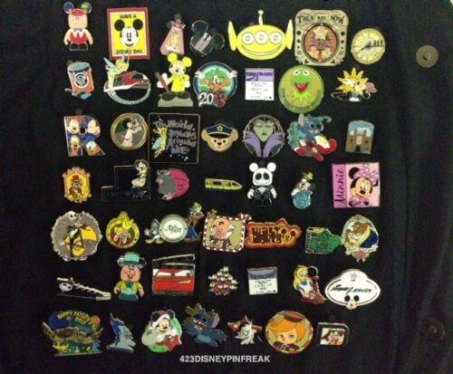 Disney Trading Pin Lot 50, No Duplicates 100% Tradable FREE US Ship #44 in Collectibles, Disneyana, Contemporary (1968-Now) | eBay