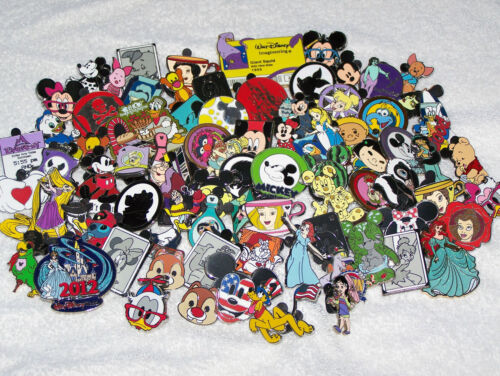 Disney trading pins lot of 100 (Free Shipping) no duplicates USA seller in Collectibles, Disneyana, Contemporary (1968-Now) | eBay