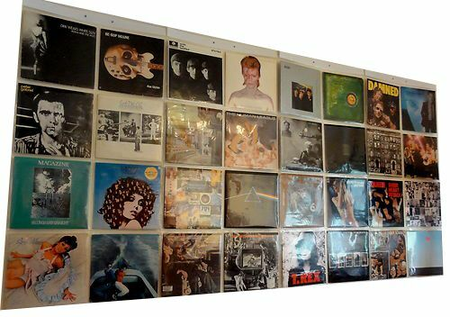 Display 32 X 12 Quot Inch Vinyl Record Lp Albums In Wall