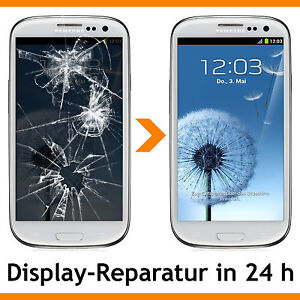 display touchscreen reparatur f r samsung galaxy s3 siii. Black Bedroom Furniture Sets. Home Design Ideas