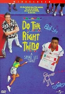 Do the Right Thing (DVD, 1998, Widescree...