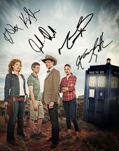 Doctor Who Cast signed 11x14 Photo - Dr Matt Smith & Karen Gillan Autographs in Entertainment Memorabilia, Autographs-Original, Movies | eBay