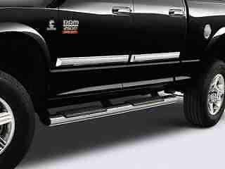 Dodge RAM Truck Chrome Tubular Side Steps Nerf Bars Running Boards