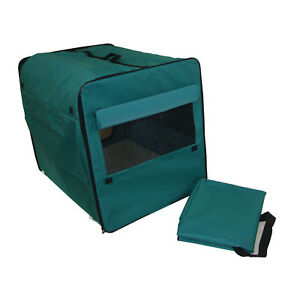 Dog Cat Pet Bed House Soft Carrier Crate Cage w/Case in Pet Supplies, Dog Supplies, Cages & Crates | eBay