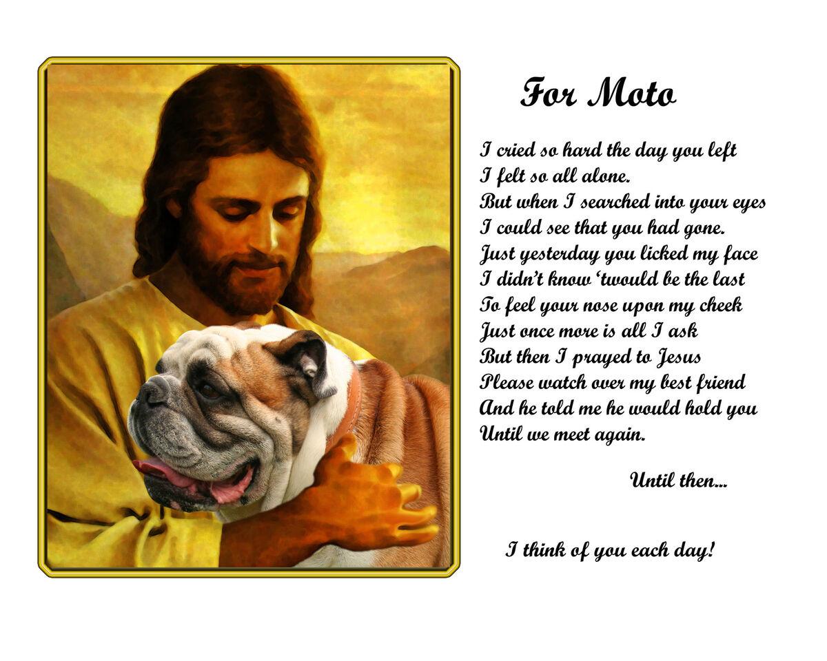 Personalized Pet Memorial
