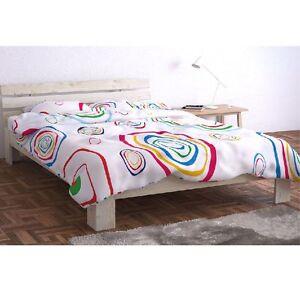 doppelbett 140x200 holz kiefer bett bettgestellt mit. Black Bedroom Furniture Sets. Home Design Ideas