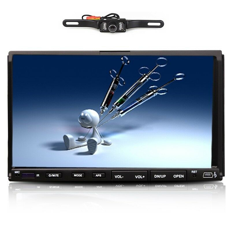 Touch screen cd player for truck