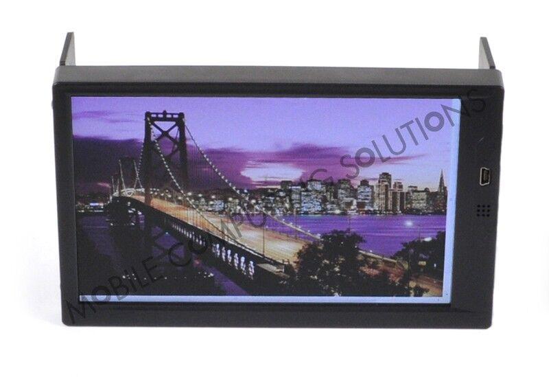 "Double DIN Mini Touch 700 7"" VGA Touch Screen Monitor Car PC Carputer"