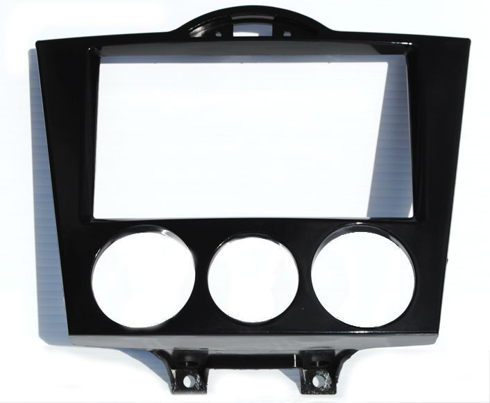 Double DIN Aftermarket Radio Stereo Installation Install Dash Kit Trim Mounting