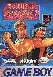 Double Dragon III The Arcade Game Nintendo Game Boy, 1993