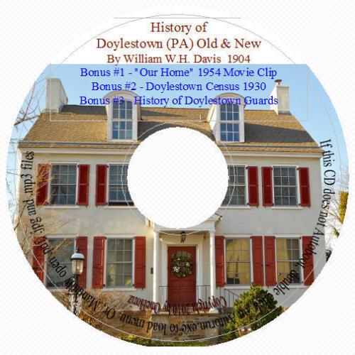 Doylestown, Bucks County PA History in Everything Else, Genealogy, County, State History | eBay
