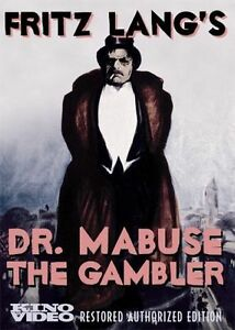 Dr. Mabuse the Gambler (DVD, 2006, 2-Dis...