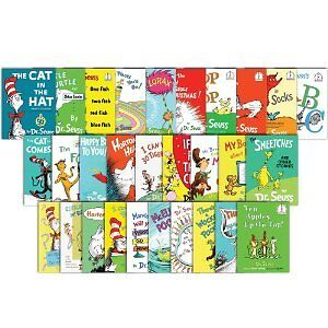 Lot of 28 Dr. Seuss I Can Read By Myself Bright Early Beginning Reader Books HC
