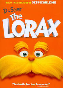 Dr. Seuss' The Lorax (DVD, 2012)