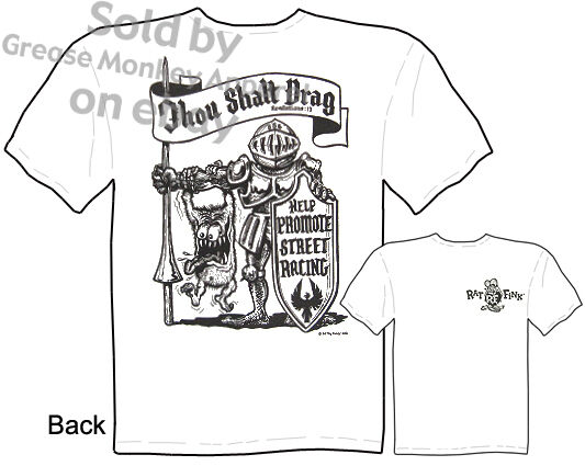 Drag Race Rat Fink T shirt, Big Daddy T, New, Sz M 3X