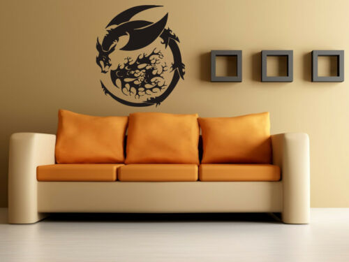 Dragon Basilisk Emblem Urban Art Mural Wall Art Decor Vinyl Sticker z330 in Home & Garden, Home Decor, Decals, Stickers & Vinyl Art | eBay