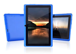 Touch 7'' Google Android 4.0 Tablet A13 8Gb Wifi Webcam Q88 Blue