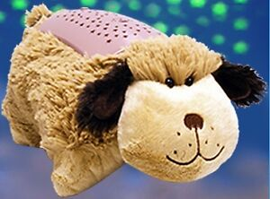 Animal Pillow Case As Seen On Tv : Dream Lites Pillow Pets Snuggly Puppy Night Light As Seen On TV Stuffed Animal eBay