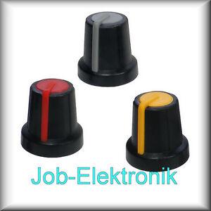 Drehknopf-Potiknopf-Stellknopf-Einstellknopf-schwarz-grau-gelb-rot-s6ggr