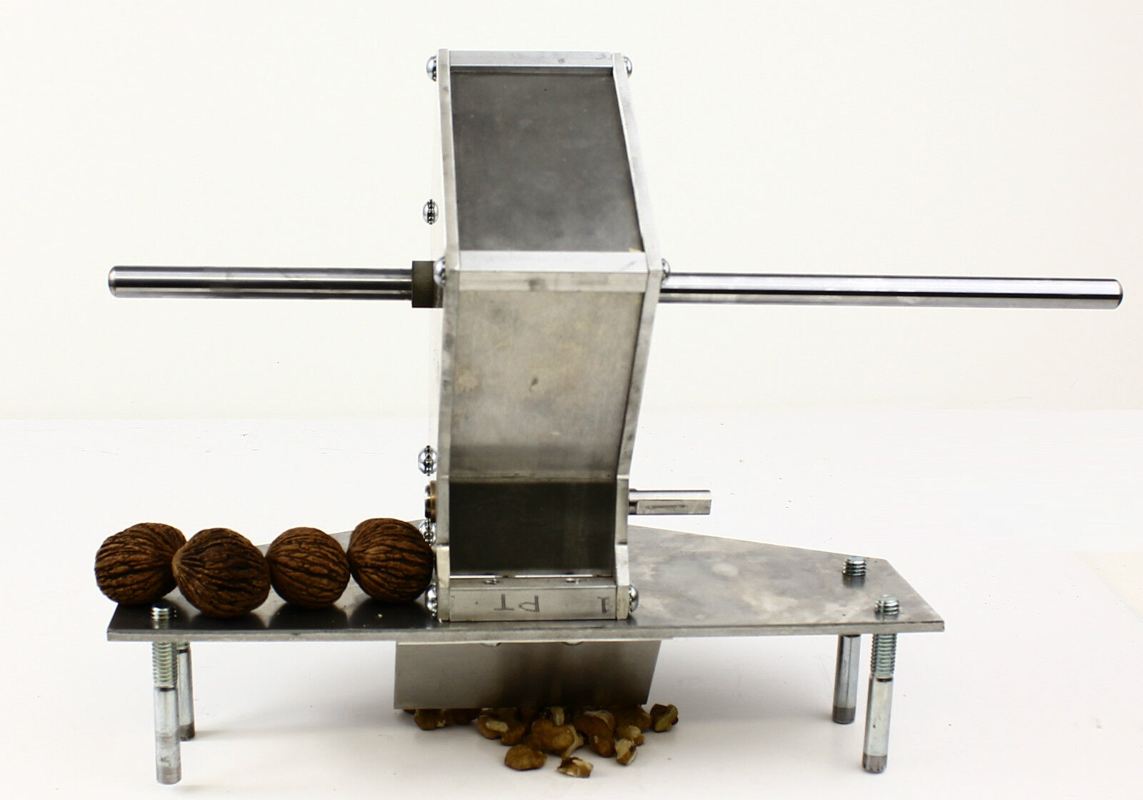 Drill Cracker Res English Black Walnut Brazil Nut Almond Macadamia ...