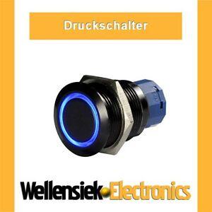 Druckschalter-Schalter-9-12V-230V-Wippschalter-Led-blau-vandalismusschalter
