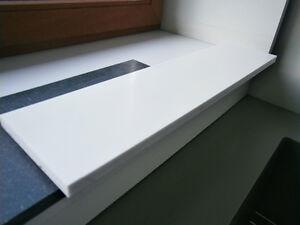 du pont corian fensterbank fensterb nke auf ma wei grau braun bunt neu ebay. Black Bedroom Furniture Sets. Home Design Ideas