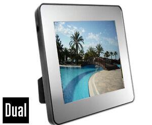 Dual-Digitaler-Bilderrahmen-MP3-Player-4GB-SPEICHER-3-5-034-8-9cm-Farb-Display
