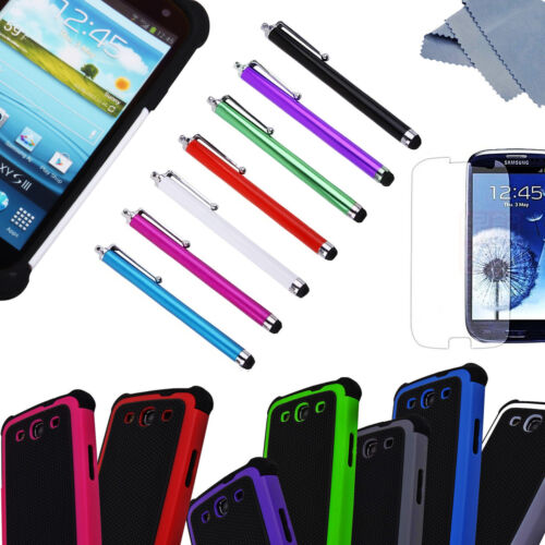 Dual Layer Hybrid Hard Case Cover for Samsung Galaxy S3 III i9300 (8 Colors) in Cell Phones & Accessories, Cell Phone Accessories, Cases, Covers & Skins | eBay