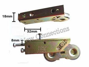 Dual Wheel Sliding Patio Door Rollers For Upvc Wood Or
