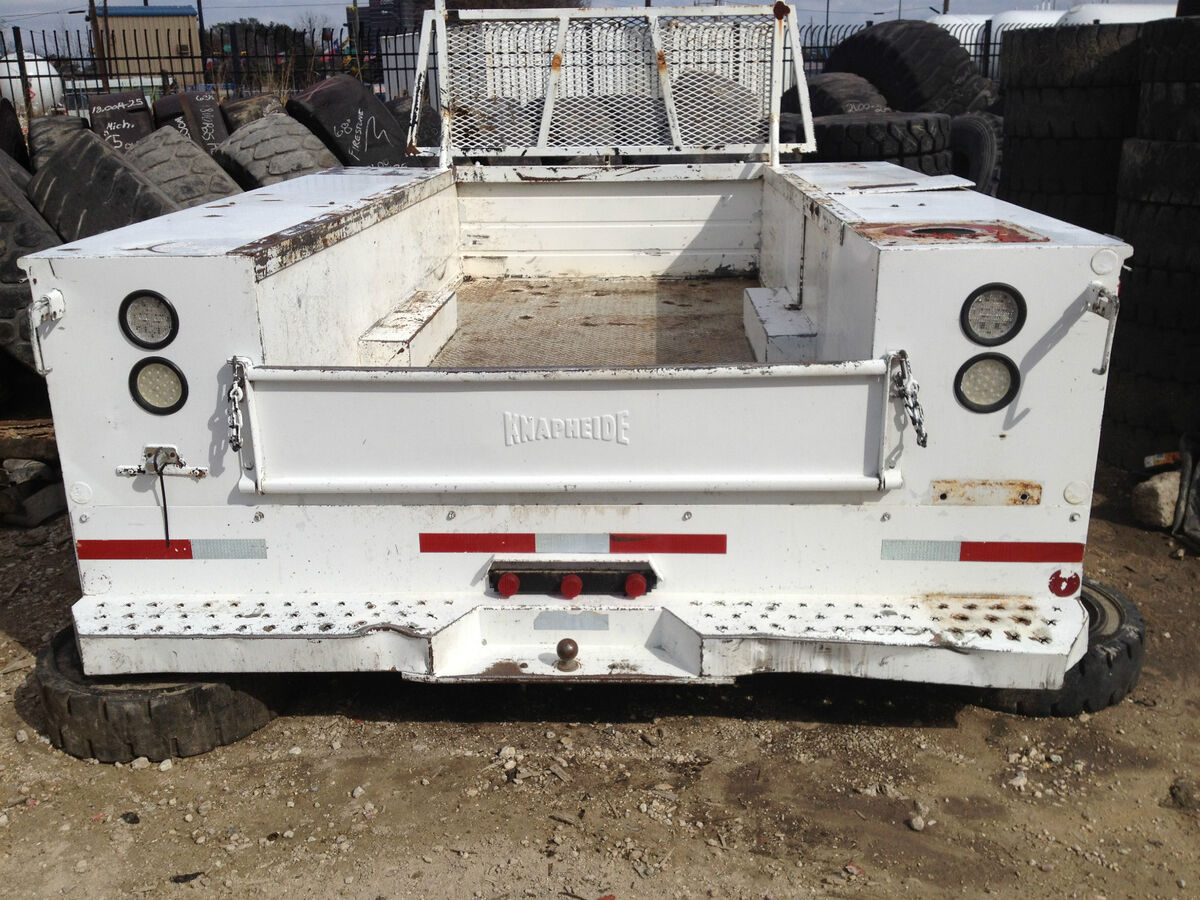 Dually Utility Truck Bed