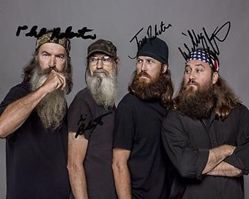 Duck Dynasty 8X10 Photo Group Signed Autographed Rp Willie Phil Jase Robertson in Entertainment Memorabilia, Autographs-Reprints, Movies | eBay