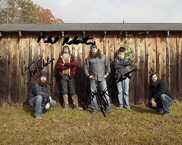 Duck Dynasty 8X10 Photo Group Signed Autographed Rp Willie Phil Robertson A&E in Entertainment Memorabilia, Autographs-Reprints, Movies | eBay