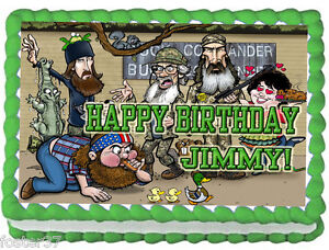 Duck Dynasty Birthday Cakes