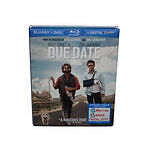 Due Date (Blu-ray/DVD, 2011, 2-Disc Set,...