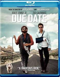 Due Date (Blu-ray/DVD, 2011, 2-Disc Set,...