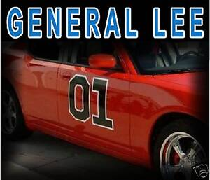 General Lee01 http://www.ebay.com/itm/Dukes-of-Hazzard-GENERAL-LEE-01-Door-Decal-Sticker-Kit-/120671980122