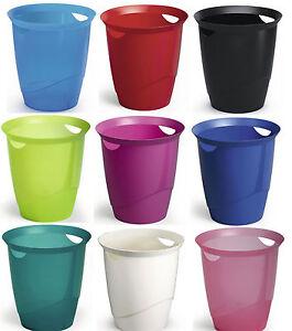 Durable-PAPIERKORB-TREND-16-Liter-mit-Tragegriffen-verschiedene-Farben-1701710