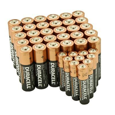 Duracell 30 AA + 10 AAA Batteries Copper Top Alkaline Long Lasting 2018/19 Bulk in Consumer Electronics, Multipurpose Batteries & Power, Single Use Batteries | eBay