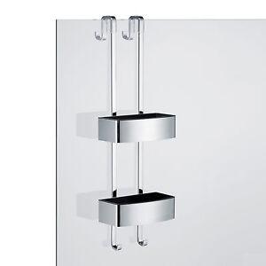 duschablage duschregal edelstahl poliert mit 2 x schwammkorb m kunststoffeinsatz ebay. Black Bedroom Furniture Sets. Home Design Ideas