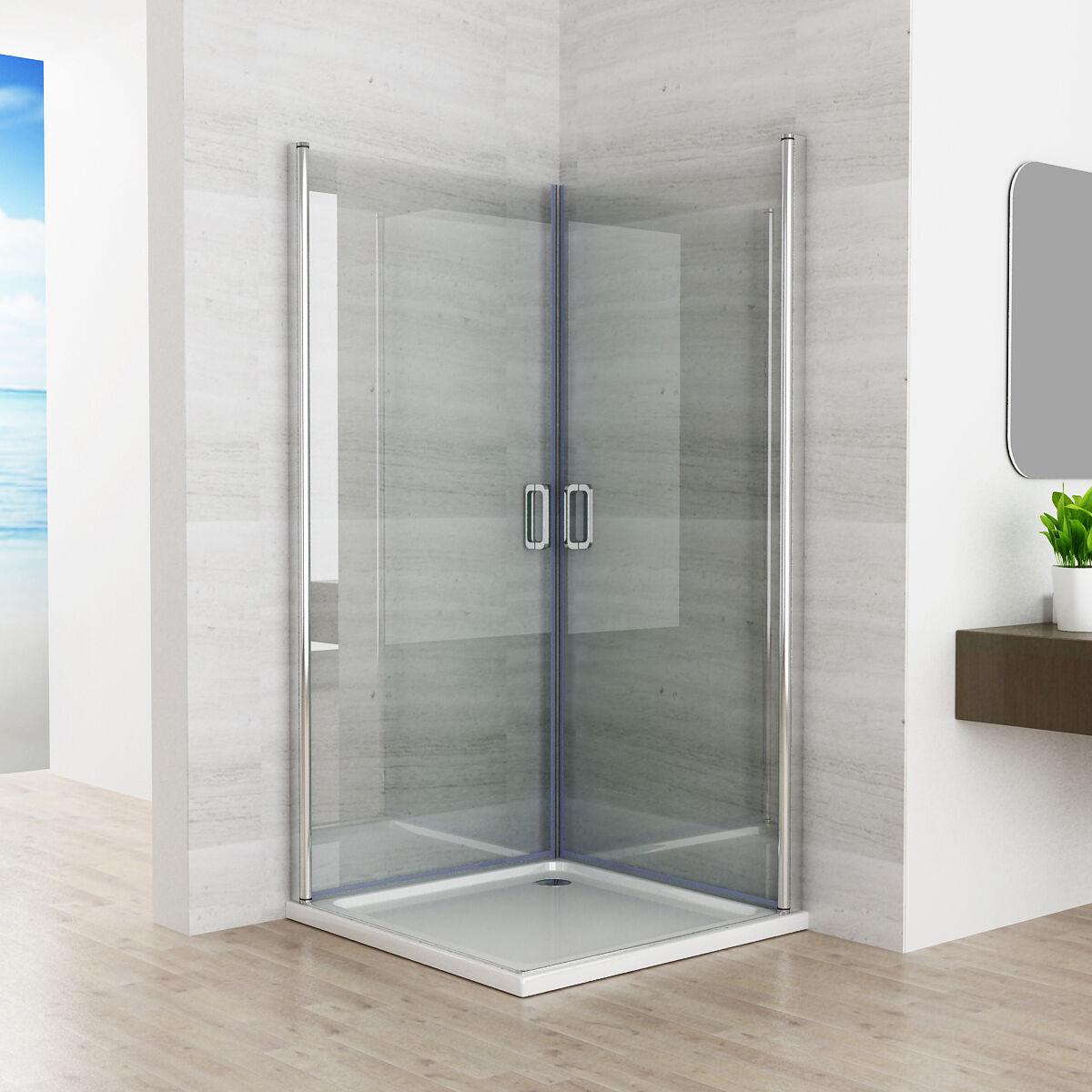 90 x 90 cm duschkabine duschwand 180 eckeinstieg schwingt r dusche nano 195cm z 9245752245861. Black Bedroom Furniture Sets. Home Design Ideas