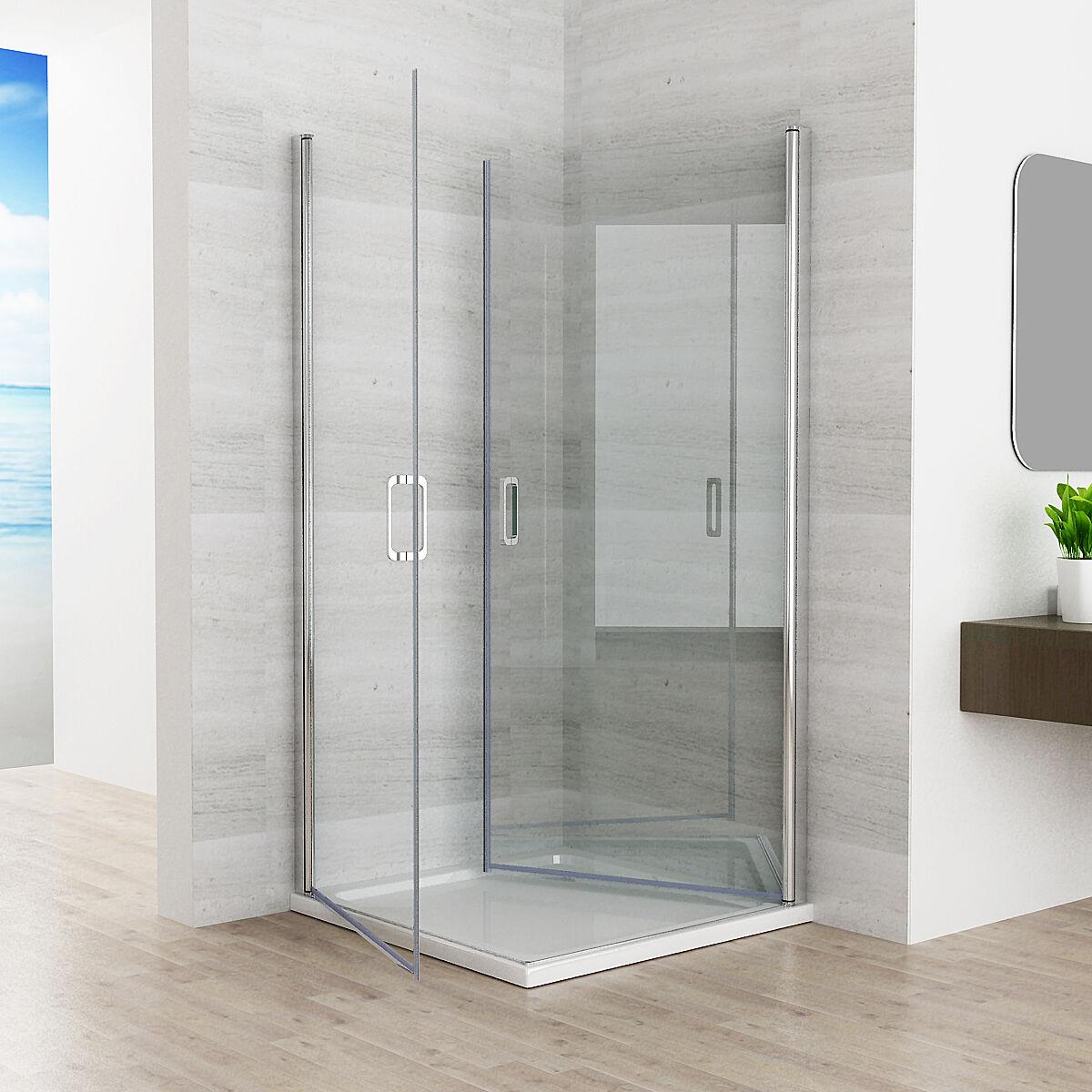 duschkabine 180 schwingt r duschwand duschabtrennung nano. Black Bedroom Furniture Sets. Home Design Ideas