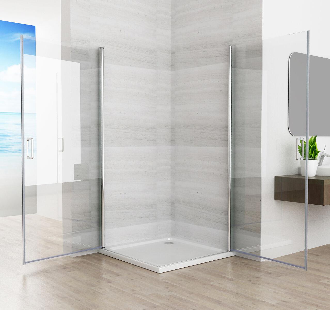 90 x 90 cm duschkabine duschwand 180 eckeinstieg. Black Bedroom Furniture Sets. Home Design Ideas