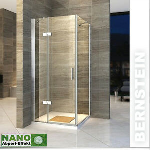 duschkabine duschabtrennung dusche rechteck nano esg echtglas 8mm glas 195cm ebay. Black Bedroom Furniture Sets. Home Design Ideas