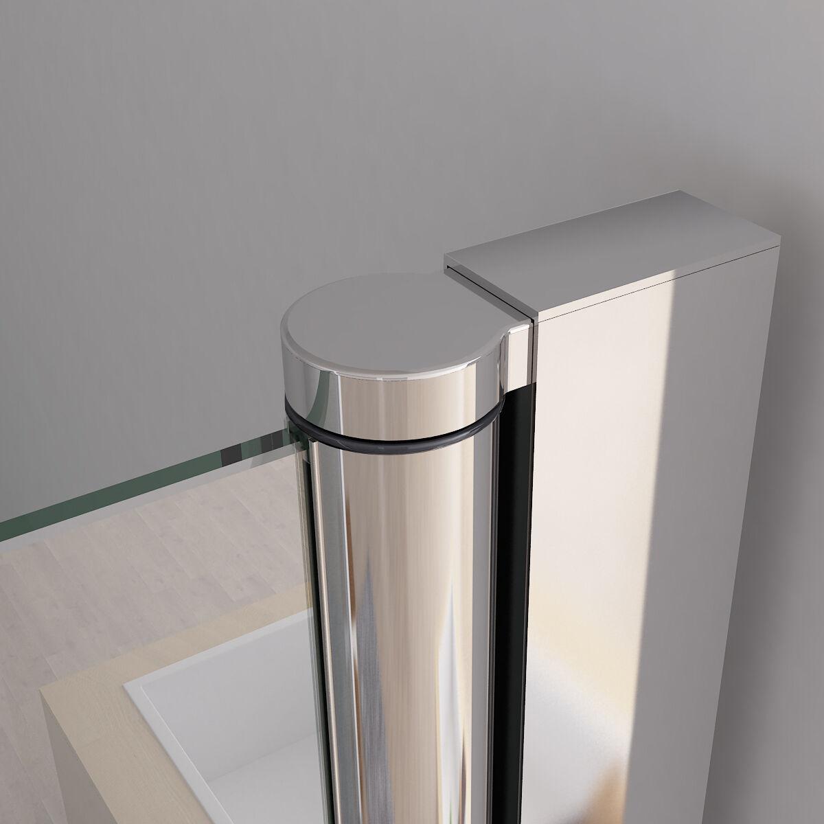 nischent r duschabtrennung faltt r duschwand dusche nano glas 70 120 x 195 cm da ebay. Black Bedroom Furniture Sets. Home Design Ideas