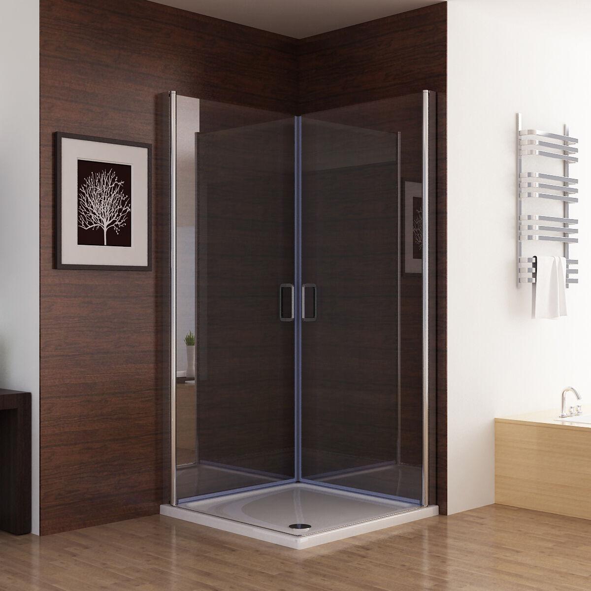 90 x 90 cm duschkabine eckeinstieg dusche duschwand duschabtrennung duschwanne ebay. Black Bedroom Furniture Sets. Home Design Ideas