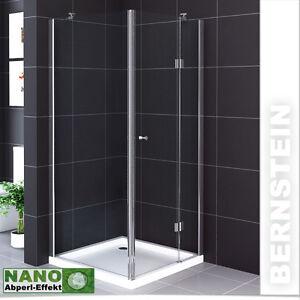 duschkabine eckig duschabtrennung glas echtglas nano. Black Bedroom Furniture Sets. Home Design Ideas